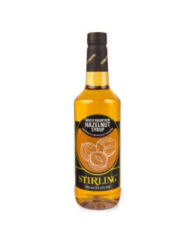 Hazelnut Flavor Syrup 750 ml Bottle