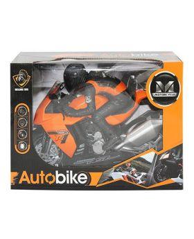 Toy Motorbike w' Rider
