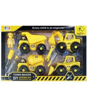 D.I.Y Town Maker Truck Set
