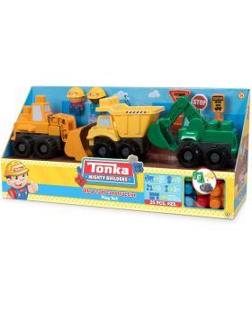 Tonka Ultra Tuff Construction 35 Piece Set (Building Blocks)