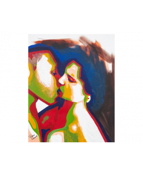 The Kiss Canvas Art