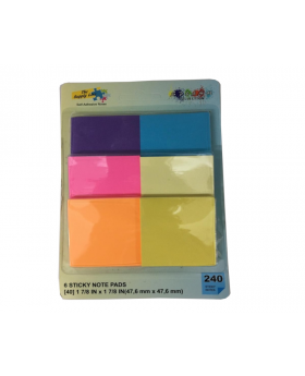 The Supply Line Sticky Note Six Pack Pad