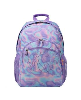 Totto Backpack Water Colour Purple and Blue
