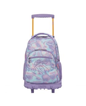 Totto Girl's Watercolour Pulley Backpack