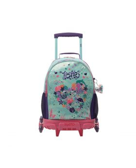 Totto Pulley Backpack With 3 Wheels – Under the Sea
