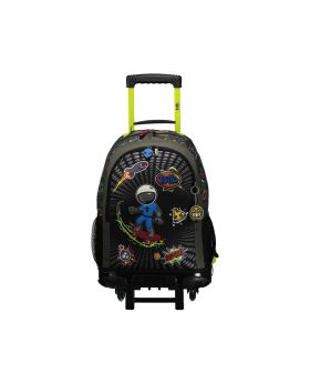 Totto Spaceman Wheeled Backpack