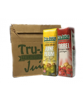 Tru-Juice (30% Juice) 1 Litre Sorrel & June Plum 12 Pack