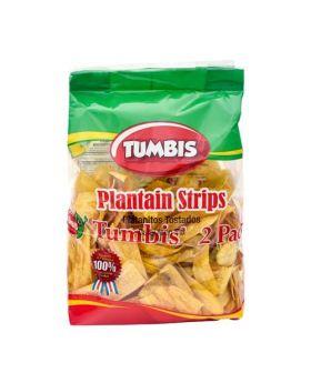 Tumbis Plantain Strips 2pk x350g