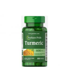 Turmeric 400mg Supplements Puritans Pride