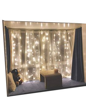 Twinkle Star 300 LED Window Curtain String Lights