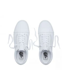 Vans Old Skool True White 9.5 Men/11 Women Tennis Shoes