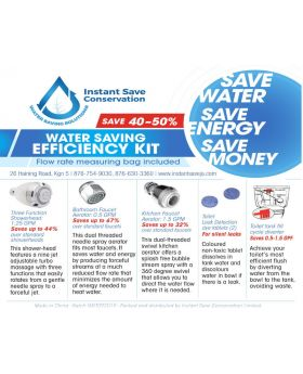 Water Saving Efficiency Kit