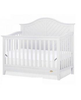 Wonder Baby 4 In 1 Crib White