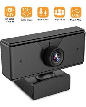1080P USB PC Webcam Plug and Play