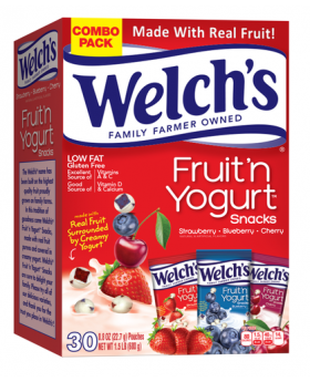 Welch's Fruit n Yogurt 30 Count x .8oz