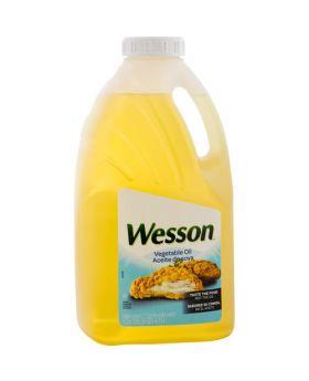 Wesson Vegetable Soy Oil 5 Qt
