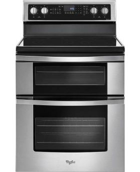 Whirlpool Double Oven Electric Stove