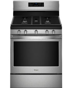Whirlpool 5.0 Cu.Ft. Freestanding Gas Range with Fan Convection Cooking