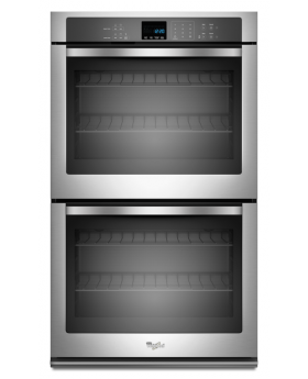 "Whirlpool WOD51EC0AS 30"" 5.0 Cu. Ft. Double Electric Wall Oven"