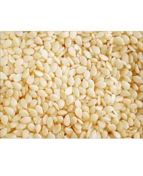 Bulky Foods JA - 100% Organic White Sesame Seeds - 1 lb.