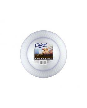 "Chinet White Plastic Plates 10"" 85ct"