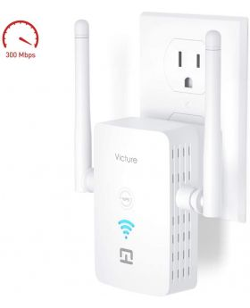 Victure WiFi Range Extender Repeater 2.4GHz 300Mbs