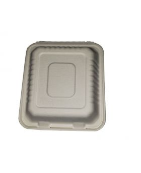 8x8 Biodegradable Food Boxes 200 Per Case