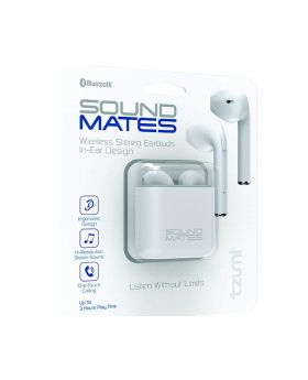Sound Mates Wireless Stereo Earbuds In-Ear Design