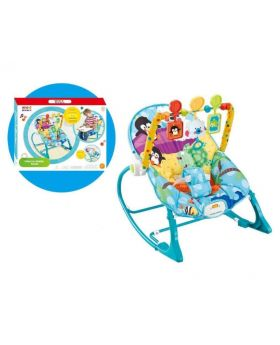 Wonder Baby Infant To Toddler Rocker Blue