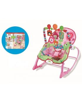 Wonder Baby Infant-to-Toddler Rocker Pink Flower