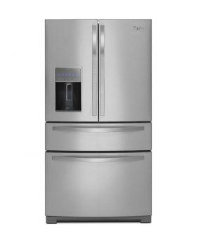 Whirlpool 4 Door French Door Refrigerator With Ice And Water Dispenser
