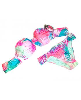 Xhilaration Cheeky Bikini Off The Shoulder Convertible 2 Piece Swimsuit (S)