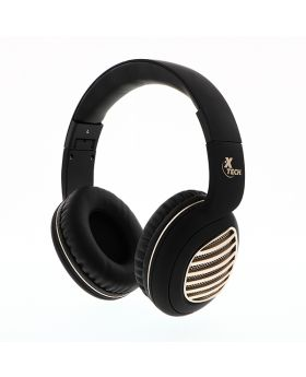 Xtech XTH-630SV Palladium Stereo Headphones With Microphone and Wireless Technology