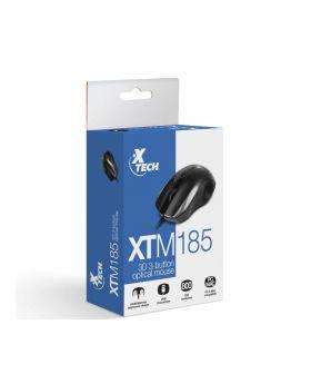 Xtech XTM-185 USB Optical Ergornomic 800DPI Mouse