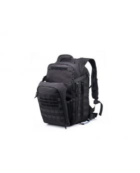Yakeda Backpack 600D polyester with PU coating BLACK/TAN/OD GREEN