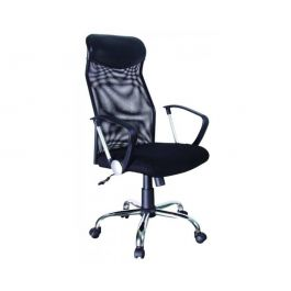 QZY-2501 Black Torin Manager's Chair  with Arm Rest
