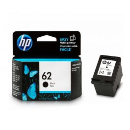 HP 62 Black Original Ink Cartridge (C2P04AN#140)