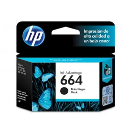 HP 664 Black Original Ink Advantage Cartridge 2 Pack