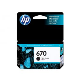 HP 670 Black Original Ink Advantage Cartridge 2 Pack