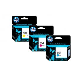 HP 954 Color Original Ink Advantage Cartridge 3 Pack
