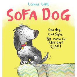 Sofa Dog by Leonie Lord