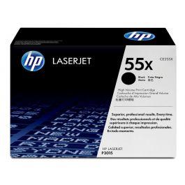 HP 55X High Yield Black Original LaserJet Toner Cartridge (CE255X)