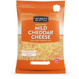 Member's Selection Cheddar Shredded Cheese 3 lbs
