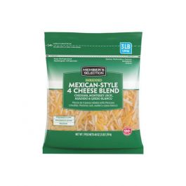 Member's Selection Shredded Mexican-Style 4 Cheese Blend 1.36 kg/3 lbs