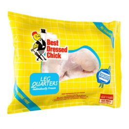 The Best Dressed Chicken Individually Frozen Leg Quarters 5 Pieces 2.25 Kgs