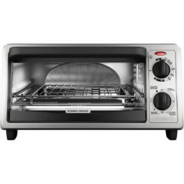 Black & Decker TO1322SBD 4 Slice Toaster Oven