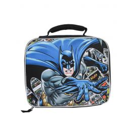 DC Batman Insulated Lunch Bag Comic Book