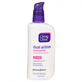 Clean & Clear Dual Action Moisturizer Oil Free-Salicylic Acid Acne Medication