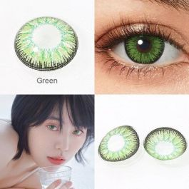 Colored Cosplay Contacts 1 Pair Contact Lenses For Eyes Beauty Green