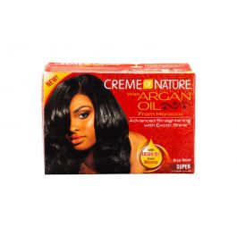 Creme of Nature Argan Oil Relaxer Kit - Super